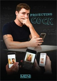 Projecting Cock gay porn DVD from MEN.com