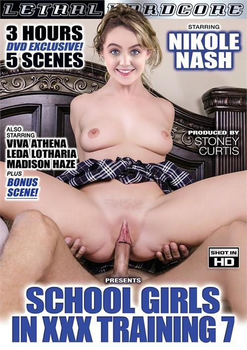 Schoolgirls in XXX Training 7