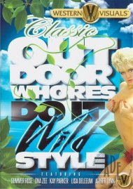 Classic Outdoor Whores Do It Wild Style