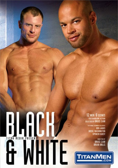 Free black on white gay porn