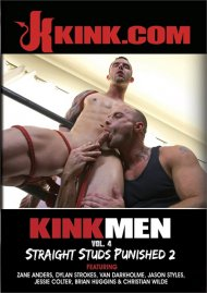 Kink Men #4: Straight Studs Punished 2 gay porn DVD from Kink.