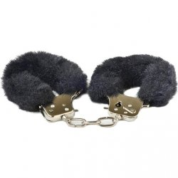 Play With Me: Play Time Cuffs - Black Sex Toy