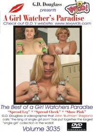 Girl Watcher's Paradise Volume 3035, A Porn Video