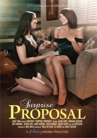 Surprise Proposal porn video from Girlsway.
