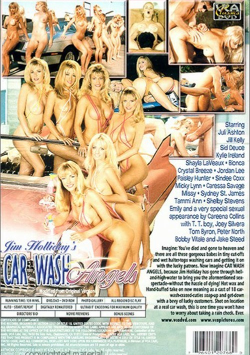 Back cover of Car Wash Angels 1