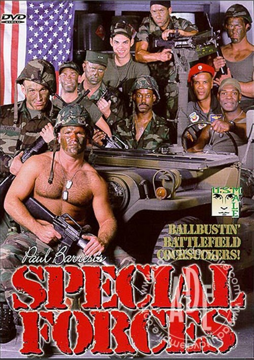 Special Forces (USMale) Cover Front