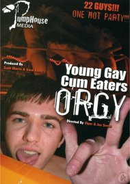Young Gay Cum Eaters Orgy image
