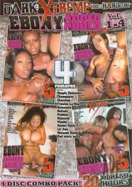 Ebony Asses Vol. 1-4