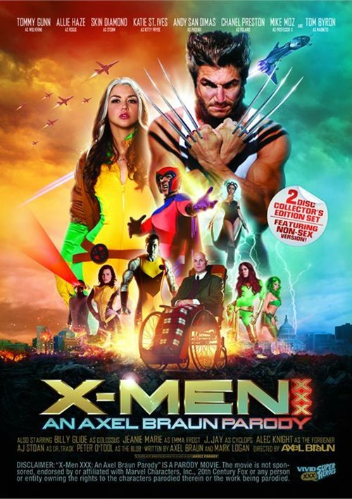 X Men Xxx Parody