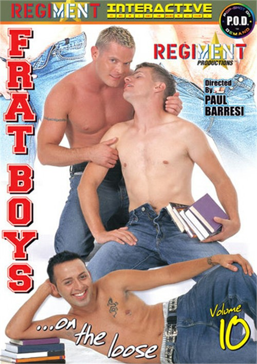Frat Boys on the Loose Vol. 10 Boxcover