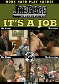 Joe Gage Sex Files 19: It's A Job image