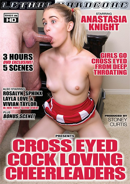 Cross Eyed Cock Loving Cheerleaders Boxcover