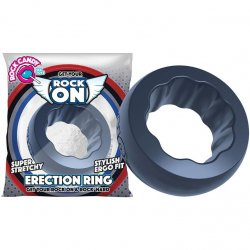 Rock Candy - Rock On Ring - Slate Grey Sex Toy
