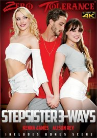 Stepsister 3-Ways Porn Video