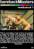 Bareback Masters: Raw & Uncut 1 Boxcover