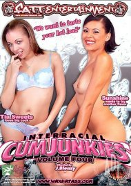 Interracial Cum Junkies #4 Porn Video