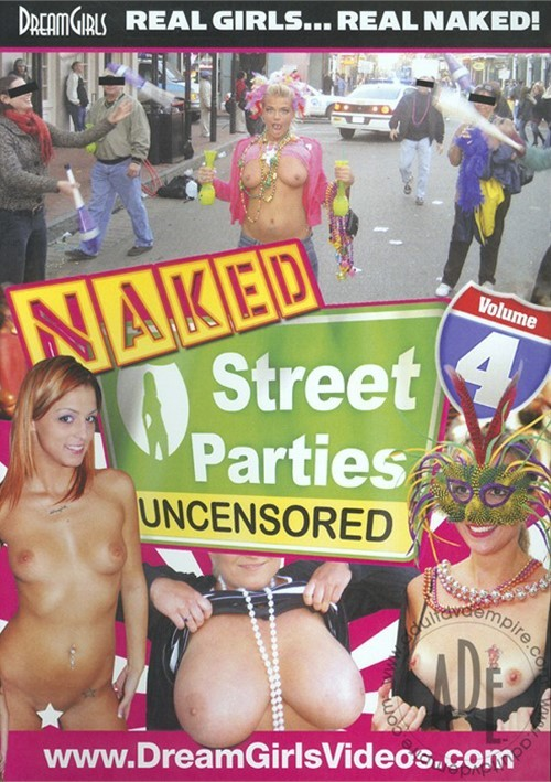 street Girl parties naked