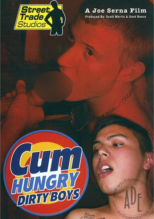 Cum Hungry Dirty Boys Boxcover