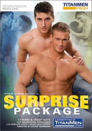 Surprise Package gay porn VOD from TitanMen Fresh