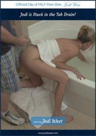 Jodi is Stuck in the Tub Drain! Porn Video
