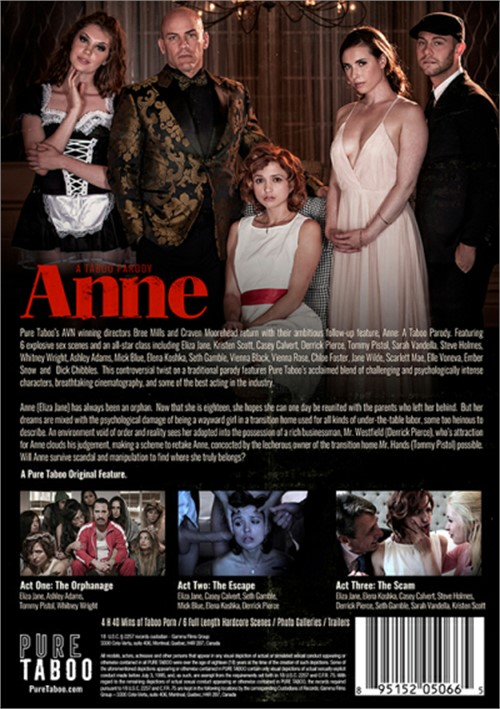 Anne: A Taboo Parody Boxcover