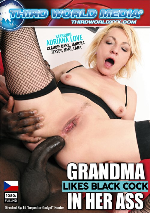 Grandma Likes Black Cock In Her Ass