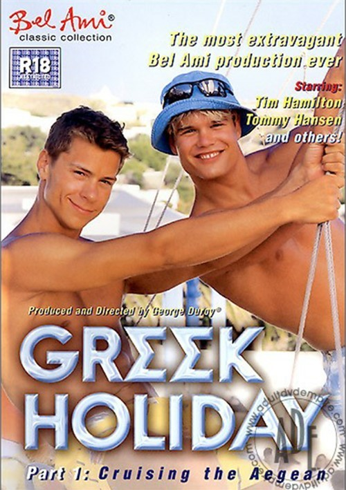 Greek Holiday 1 Cruising the Aegean Cover Front