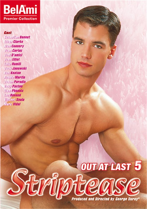 Out at Last 5 Striptease Cover Front