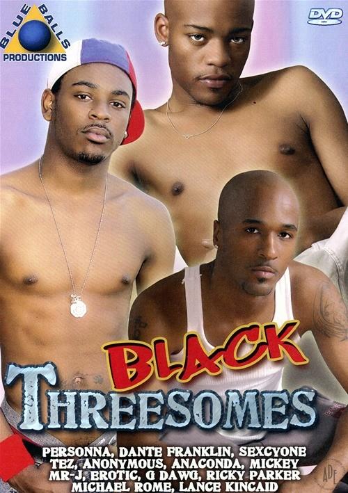 Black Threesomes Boxcover