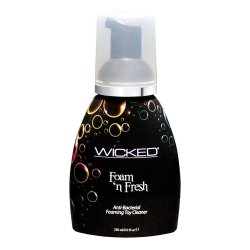 Wicked Foam N Fresh Anti-Bacterial Foaming Toy Cleaner - 8 oz.