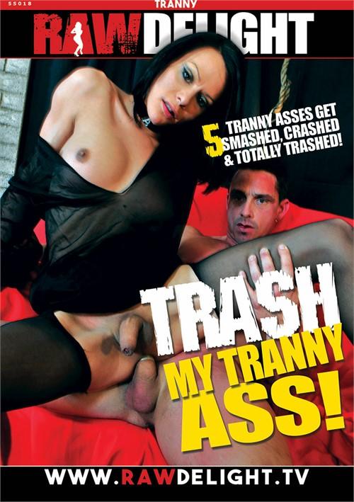 Trannys trash his ass