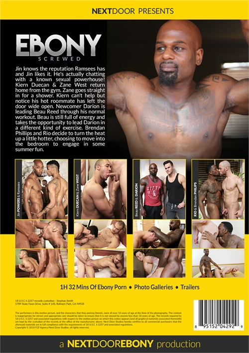 ebony gay porno gallerier