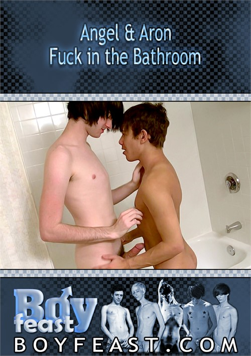 Angel & Aron Fuck in the Bathroom Boxcover