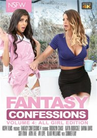 Fantasy Confessions 4: All Girl Edition porn DVD from NSFW Films.