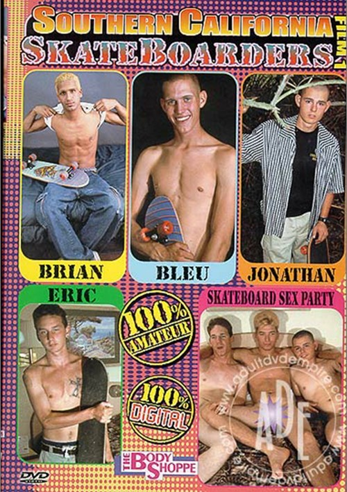 Southern California Skateboarders 1 Boxcover