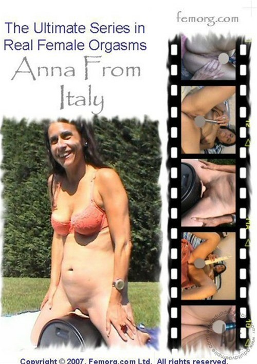 Femorg: Anna From Italy