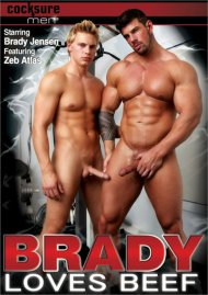 Brady Loves Beef HD gay porn streaming video from Cocksure Men.