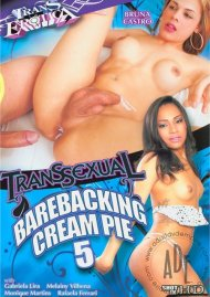 Transsexual Barebacking Cream Pie 5 image