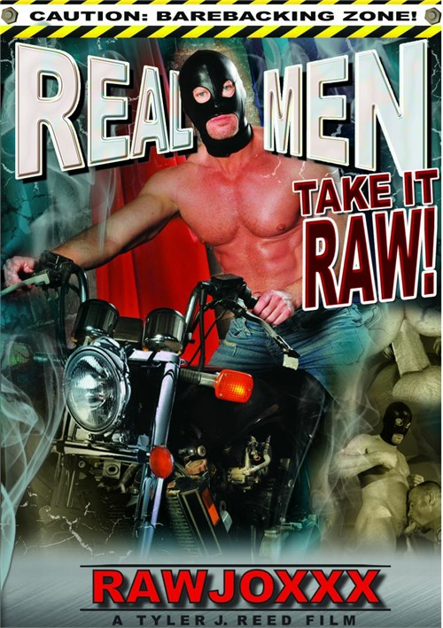 Real Men Take It Raw Cover Front