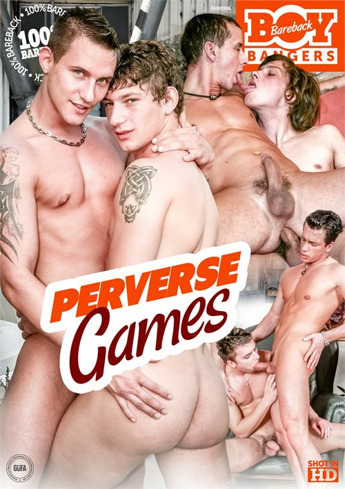 Gay porn gamers threesome