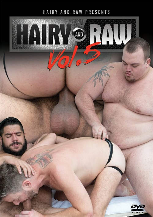 Hairy and Raw Vol. 5 Boxcover