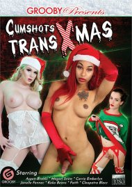 Cumshots Trans Xmas Porn Video