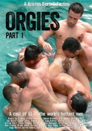 Orgies Part 1 gay porn VOD from Kristen Bjorn Video