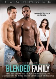 Blended Family gay porn DVD from Icon Male