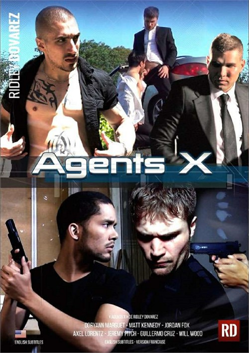 Agents X Boxcover