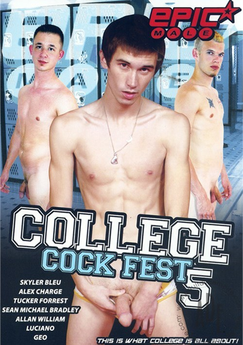College Cock Fest 5 Boxcover