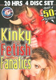 Kinky Fetish Fanatics 4-Disc Set