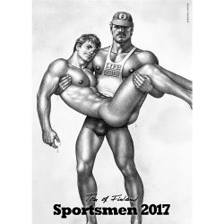 Tom of Finland Sportsmen 2017 Calendar Sex Toy