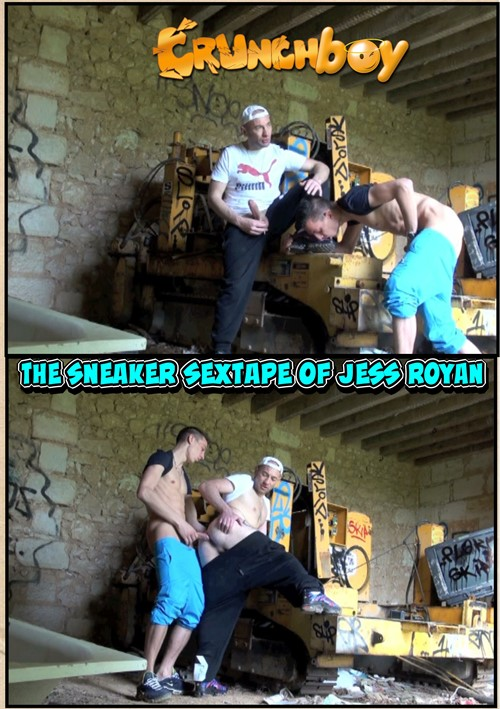 Sneaker Sextape of Jess Royan, The Boxcover