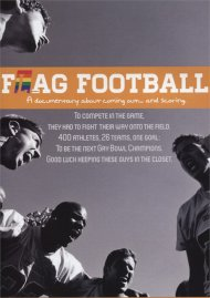 F(l)ag Football gay cinema DVD from Greenleaf Productions.